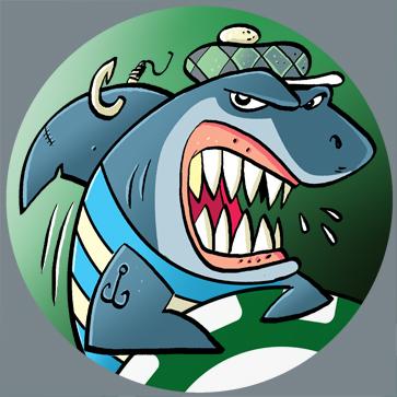 Country Shark Avatars