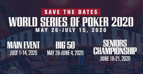 poker main event 2020